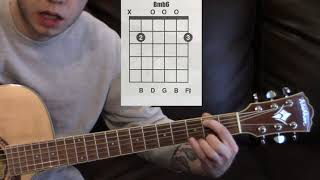 b minor variations on the guitar