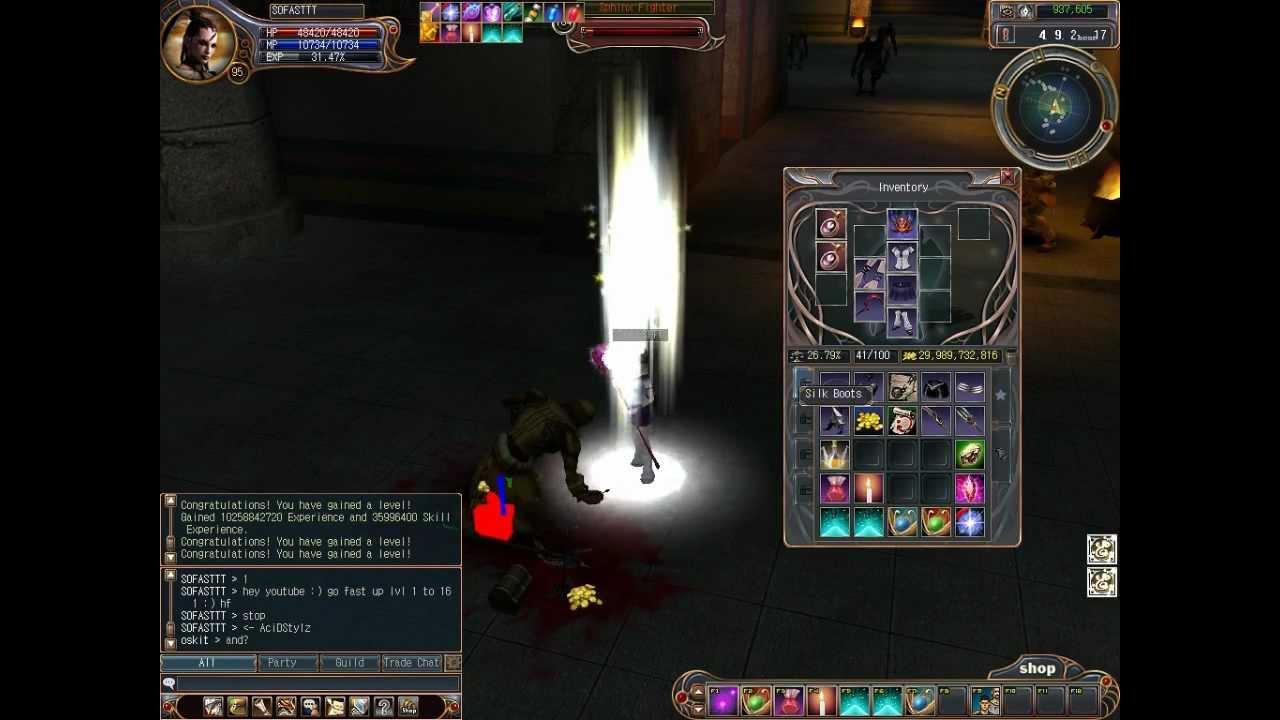 Last chaos sorceror/elementalist skills youtube.