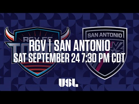 WATCH LIVE: Rio Grande Valley FC vs San Antonio FC 9-24-16