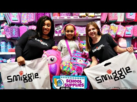 Thumbnail: Smiggle School Supplies - Shopping For Clothes & Christmas Presents - Outdoor Playground Fun