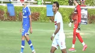 المباراة الودية بين نادي الزمالك و سموحة 5 - 1 المباراة كاملة بتاريخ 19/7/2020