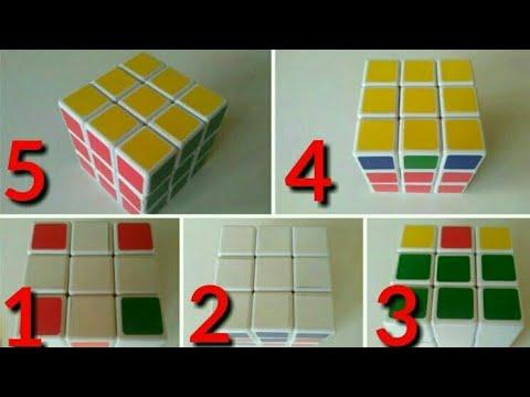 Belajar Rubik 3x3 Untuk Pemula Yang Simple Dan Mudah Dengan Trick Dasar Youtube