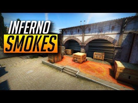 CS:GO - Best Inferno smokes *NEW* (2018)