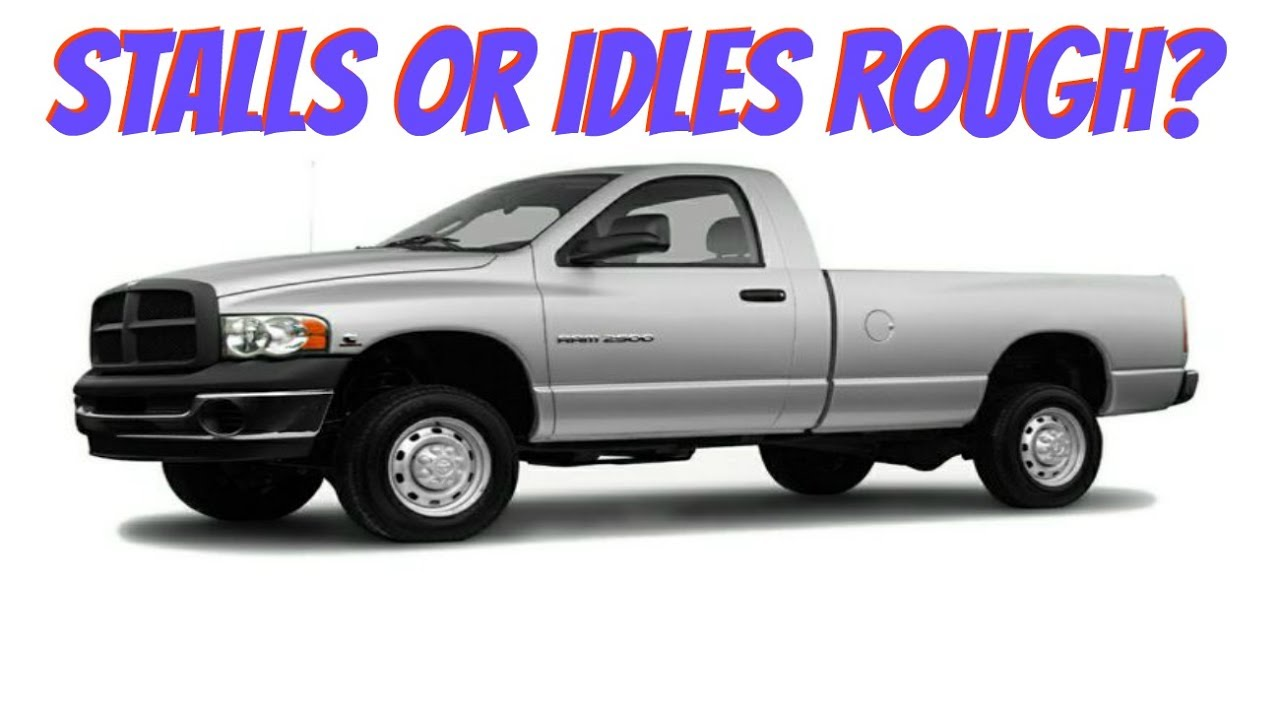 small resolution of dodge ram idles rough or stalls 1500 2500 3500