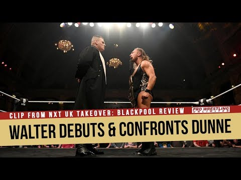 Walter Makes WWE Debut, Confronts UK Champion Pete Dunne