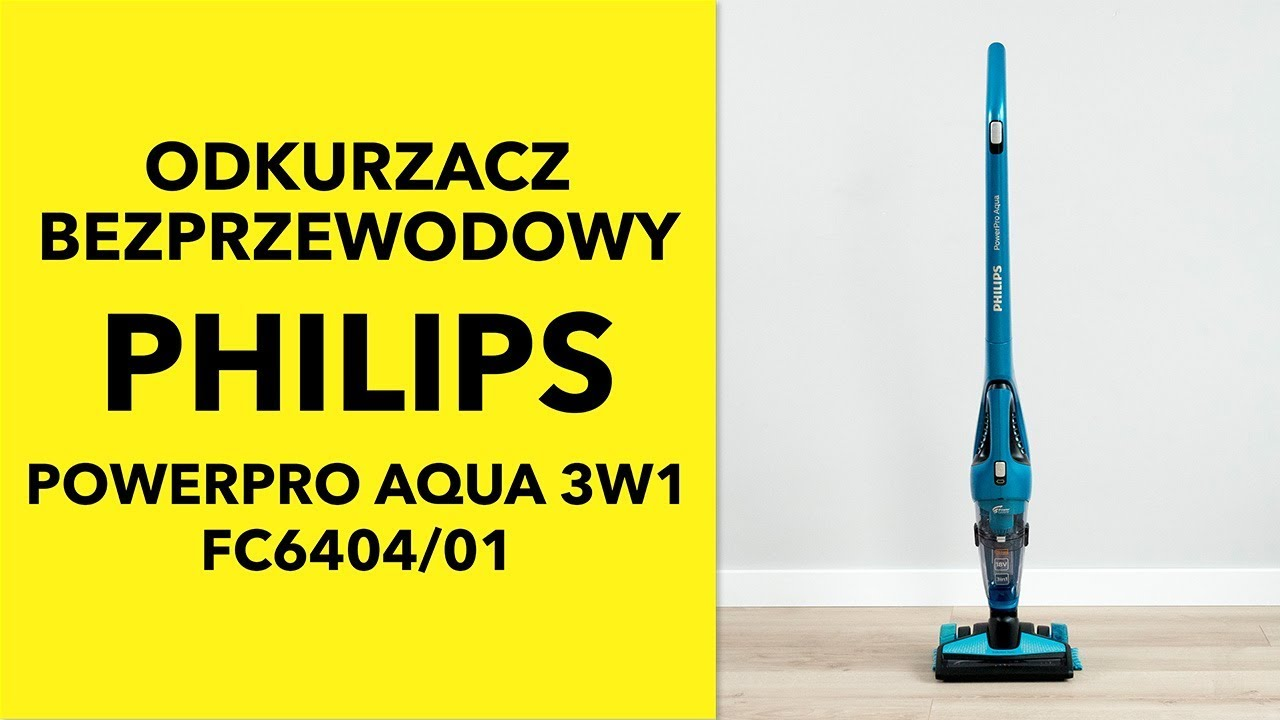 Philips Powerpro Aqua 3w1 Fc640401 Dane Techniczne Rtv Euro Agd
