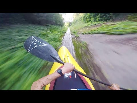 Straight down the fast lane on a kayak. | Straight from the Athletes E2: Aniol Serasolses