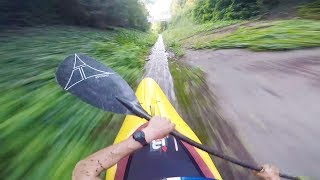 Kayak - Straight down the fast lane on a kayak. | Straight from the Athletes E2: Aniol Serasolses