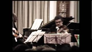 Boris Mersson - Carl Maria von Weber, Piano Quartet in Bflat major. Op. 8
