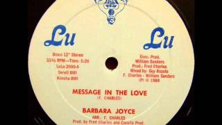 Barbara Joyce - Message In The Love - 84.wmv