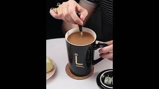 심플 북유럽 밀크글라스 선물 머그 컵 커플 세라믹  고…