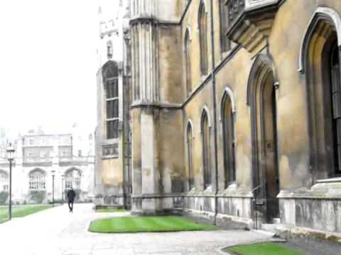 A Stroll Through King's College, Cambridge