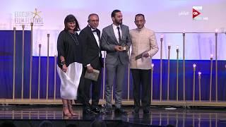 جائزة نجمة الجونة لأحسن فيلم وثائقي عربي طويل في حفل ختام مهرجان الجونة السينمائي
