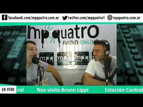 Bruno Lippi acústico, en MPQuatro (Radio-Multimedia).