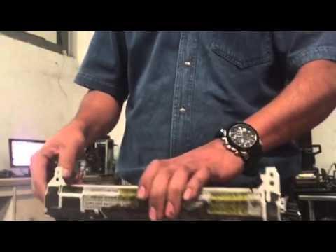 Desarmar fusor Hp 601