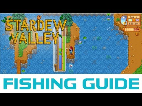 (PATCHED) How I Reached Level 10 Fishing In 4 Days - Stardew Valley Fishing Guide