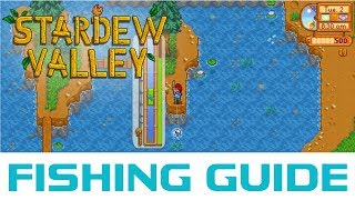 How I Reached Level 10 Fishing in 4 Days - Stardew Valley Fishing Guide