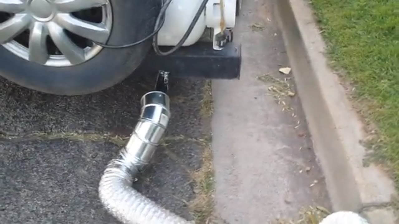 DIY RV Generator Exhaust Pipe Extension
