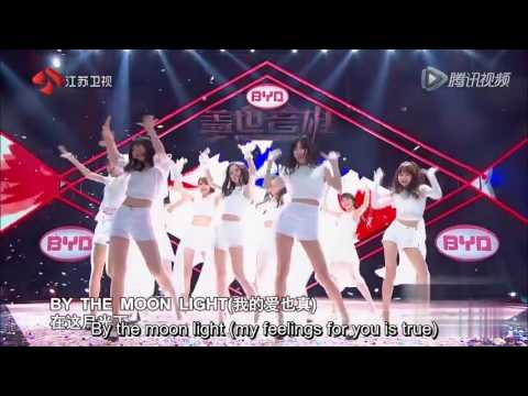 [ENG SUB] 160619 SNH48 Heroes of Remix - The Moon Represents My Heart