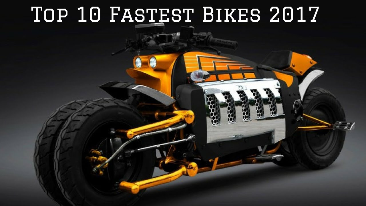 top 10 fastest bikes in the world 2017 youtube. Black Bedroom Furniture Sets. Home Design Ideas