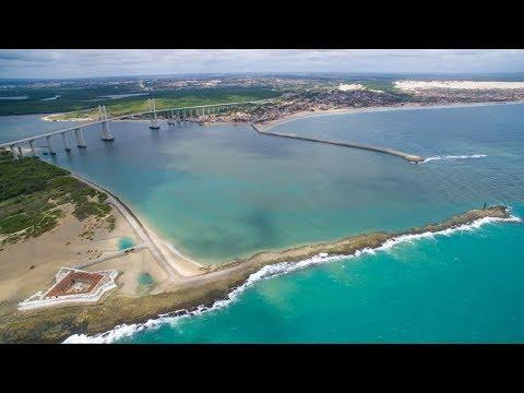 Um Drone Em Natal, Forte Dos Reis Magos E Dunas De Genipabu - Rio Grande Do Norte