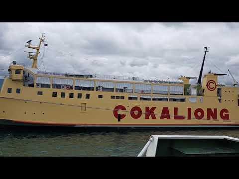 Passenger Vessel nagasgasan ng papadaong na Cargo Vessel