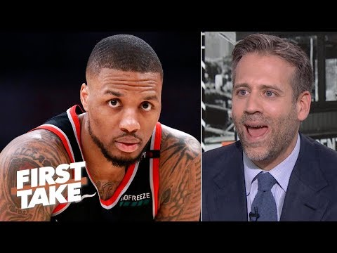 blazers to the nba finals is ridiculous max kellerman on charles barkley amp 39 s prediction first take