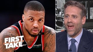Blazers to the NBA Finals is ridiculous - Max Kellerman on Charles Barkley's prediction | First Take