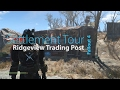 Fallout 4 Settlement Tour : Ridgeview Trading Post
