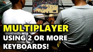 NBA 2k14 PC MULTIPLAYER Using 2 or MORE Keyboards! | Keyboard Splitter