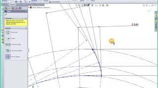 Drawing an Involute Spur Gear (HD)