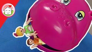 Playmobil Familie Hauser im Hippo Park - Indoor Spielplatz - Geschichte für Kinder - Film deutsch