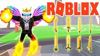 ROBLOX-How to find 8 Golden Swords sword up super fast Lever | Ninja Wizard Simulator