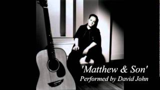 Cat Stevens - Matthew & Son (Acoustic cover by David John)