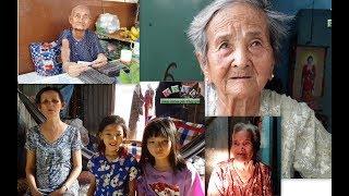 4 mẹ con bệnh tật bủa vây mừng vui khi nhận được số tiền mạnh thường quân giúp đỡ