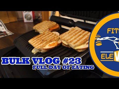 Tapia´s Bulk Vlog #23 | FullDayOfEating | Arnes Comeback | Tefal OptiGrill im Test