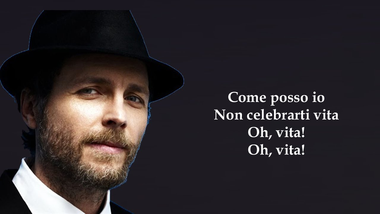 Jovanotti oh vita testo youtube for Ultimo cd di jovanotti