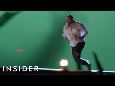 How The Rock Did His Stunts In \'Skyscraper\' | Movies Insider