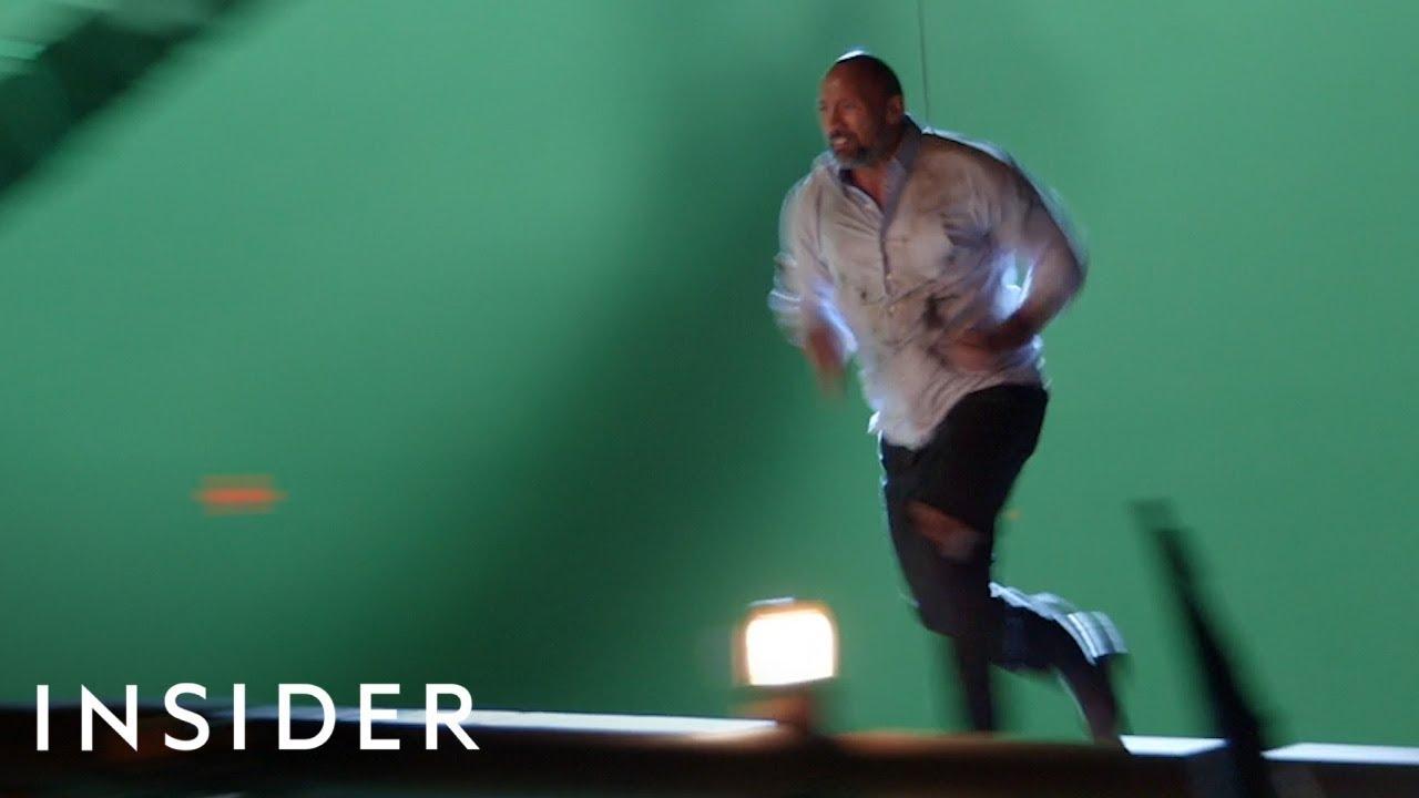 Како Двејн Џонсон ги изведува каскадерските сцени во Skyscraper?