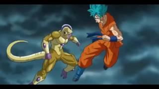 Video Dragon Ball Z Resurrection F -- SSGSS Goku Vs Golden Frieza download MP3, 3GP, MP4, WEBM, AVI, FLV Agustus 2017