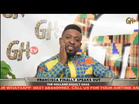 FRANCISCA FINALLY SPEAKS ON HER BROTHER SLAPPING THE ELDERLY MAN IN HOLLAND