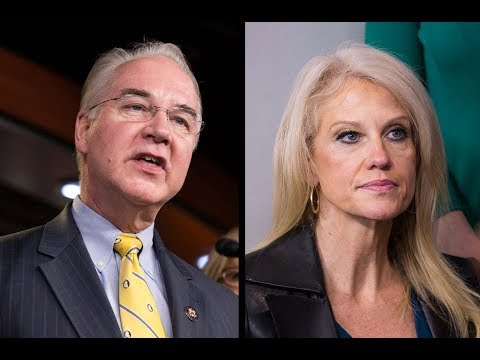 WATCH: Sec. Price and Kellyanne Conway give readout of Trump administration opioid meeting