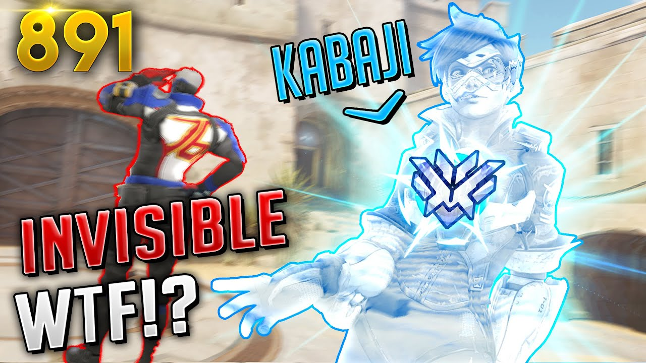 Kabaji: *THE INVISIBLE TRACER*! | Overwatch Daily Moments Ep. 891 (Funny and Random Moments) thumbnail