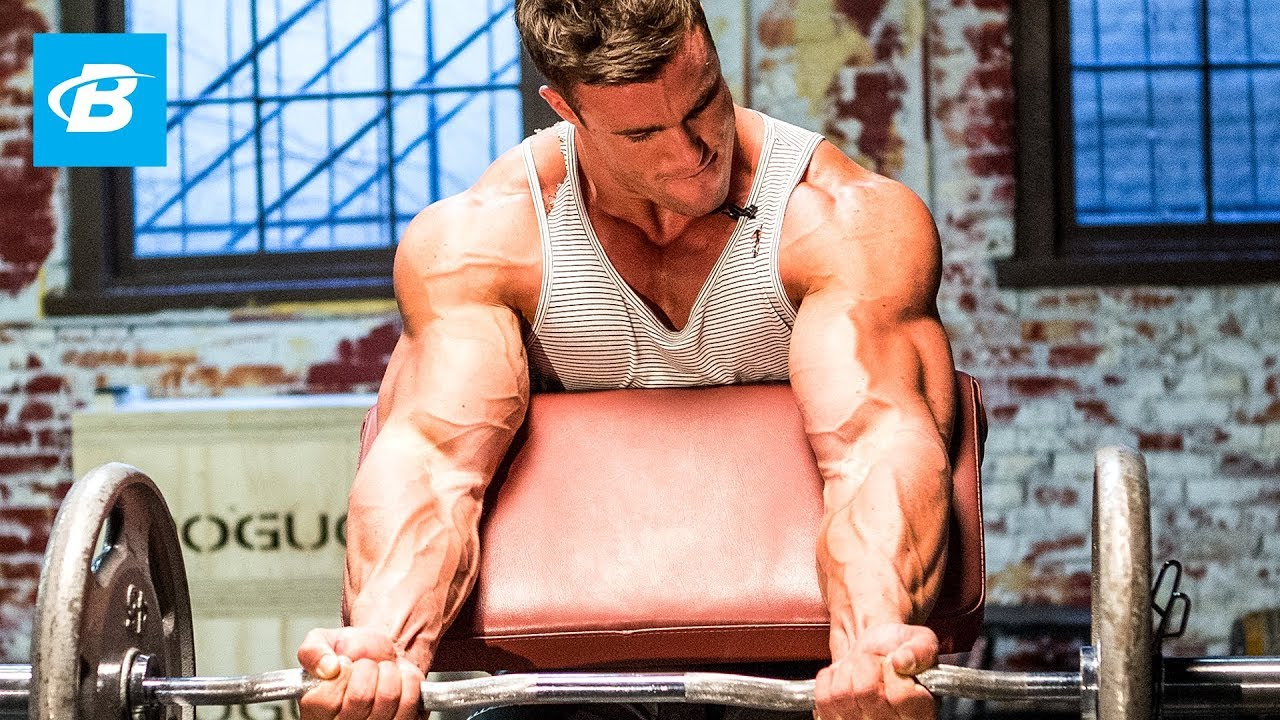 Calum Von Mogers Old School Bodybuilding Arms Workout