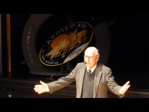 Apollo 13 Astronaut Jim Lovell Space Lecture
