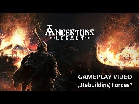 Ancestors Legacy Gameplay Video: Rebuilding Forces
