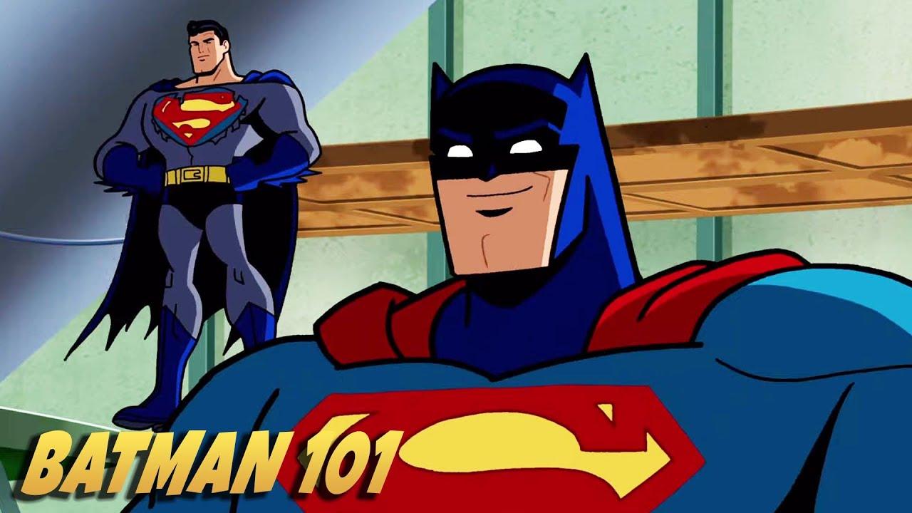 蝙蝠侠和超人 | Batman 101 中文版  | DC Kids