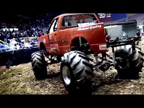 Bojangles Coliseum 4x4cross Throttle King Mega Truck Mud Race & Bad Boys of Arenacross Webisode