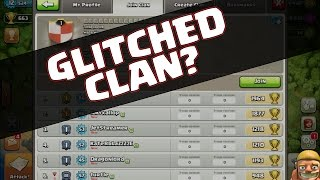 Clash of Clans   Glitched Clan? Can't Leave!