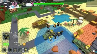 Roblox Tower Defense Simulator beta ~ quatro temporadas (hard) jogo completo-jogar